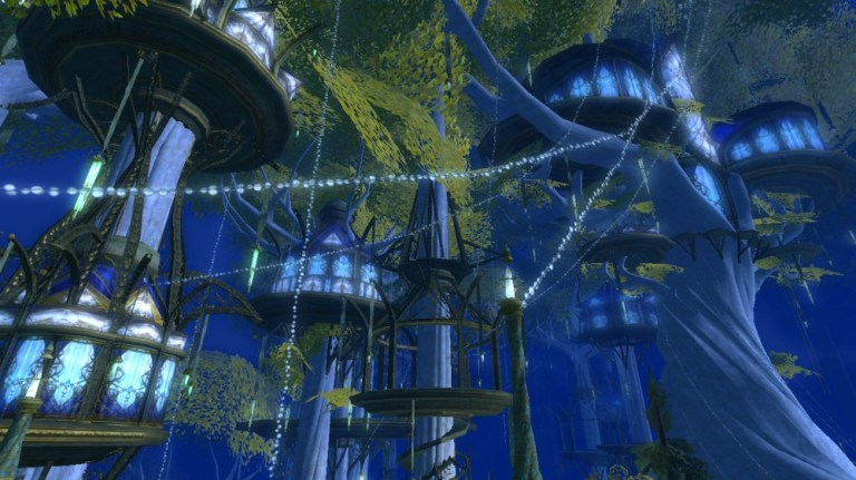 lothlorien at night